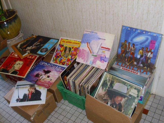 Permiderevershop brocante - Collection de vinyle ...